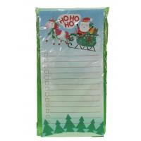 China Christmas Custom Printed Notebooks Rectangle Shape Listpad 80gsm Inner Paper wholesale