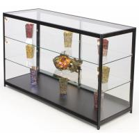72 Inch Mobile Counter Display Showcase , Sliding Door Lighted Glass Display
