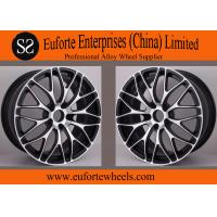 China Black Machine Face Forged Custom Wheels wholesale