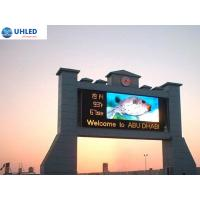 Quality P6 Outdoor Front Service LED Display Board SMD3528 , 1R1G1B LED Outdoor Screens for sale