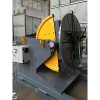 China Welding Positioner Turning Table Use 500 Diameter Welding Chuck , Loading Capacity 1200Kg Export Russia wholesale