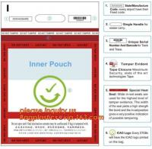 China Evidence Paper Document Digital Opaque Bag, cash deposit bag, Security Bags Plastic Deposit PE Bag Cash Envelope Check S on sale