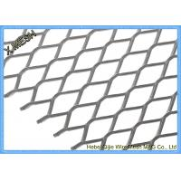 China DIN EN ISO 1461 Expanded Metal Mesh , Aluminum Expanded Metal Sheet For Stairs wholesale