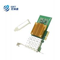 Buy cheap PCIe Ethernet NIC Card Intel I350 chip 1Gb 4-port SFP network interface card from wholesalers