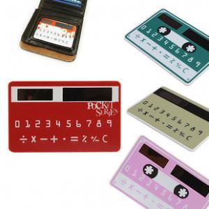 China best price Solar Power Card Pocket Calculator on sale