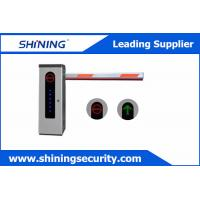 China High Integrated Parking Lot Barrier Gate / Parking Boom GatesWith Loop Detector wholesale