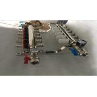 China S S 201 Floor Heating Manifold With Two Ball Valve / Brass Water Manifold wholesale