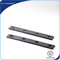 China Portable Railway Track Fish Plate / Railroad Joint Bars For Track Joint    wholesale