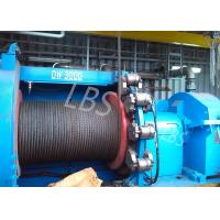 China hyraulic and electric Winch Drum for Hoist Equipment Spiral or lebus Grooving type wholesale