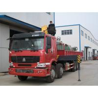 China XCMG Truck Mounted Crane Howo 50 Ton Telescopic Hydraulic Crane For Transporting Cargo on sale
