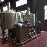 Turnkey Brewery Equipment 3 Vessel Brewhouse SS Brewing Equipment 20Bbl for sale