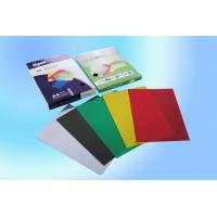 China Professional Colorful non-toxic Clear PVC Binding cover with high Transparency wholesale