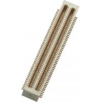 China 0.5mm 2*50P SMT Board to Board Connector with post Phosphor PA9T Bronze Gold Flash wholesale