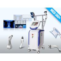 China Vertical Fat freezing Cryolipolysis + Vacuum Effective Machine MED-360+ 4 Handles on sale