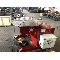China Welding Rotating Table 1000kg Welding Positioners Remote Hand Control Box wholesale