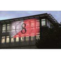China P25mm Outdoor Curtain LED Display High Brightness Waterproof for Advertising wholesale