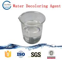 China CW -08 Water Decoloring Agent , Water Treatment Chemicals Sticky Liquid wholesale