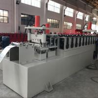 China C Channel Cable Tray Roll Forming Machine , Cable Trunking Cover Metal Roll Forming Machines wholesale