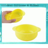 China Baby soft Silicone bowl hot selling in Shenzhen factory wholesale