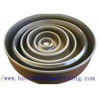 China ASME SB366 UNS NO6625 Stainless Steel Pipe Cap 1-48 Inch UNS S32750 on sale