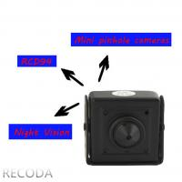 China RECODA RCDP4 3D DNR 800TVL pinhole micro Hidden Cameras in Cars , Low Lux on sale