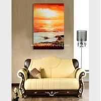Hand Painted Abstract Acrylic Painting Landscape Wall Art For Home Decor