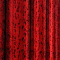 China Red Imimitation Mink Fur Dot and Strip Printed (XSD003) wholesale