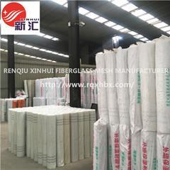 China xinhui alkali resistant waterproof plaster drywall glass fibre fiberglass mesh for concrete cracking wholesale