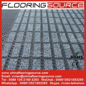 China Commercial Entrance Matting Interlocking Tile Outdoor Scraper Carpeting wholesale
