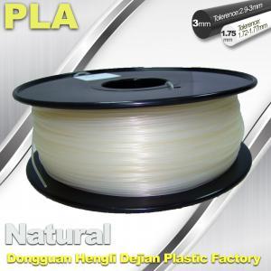 Smooth PLA Transparent Filament 1.75mm /  3.0mm 3D Printing Filament
