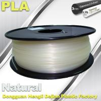 Quality Smooth PLA Transparent Filament 1.75mm /  3.0mm 3D Printing Filament for sale