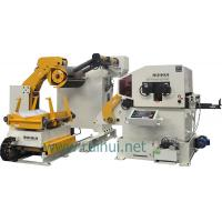 China Automatic Nc Hydraulic Servo Sheet Metal Coil Feeder With 380V Voltage on sale