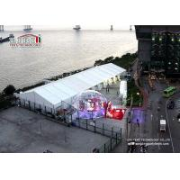 China 15m x 40m Waterproof Luxury Wedding Tent with Air Conditioner , Marquee with decoration wholesale