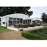 China Dome White Marquee Tents Aluminium  Fireproof PVC Roof  For Exhibition wholesale