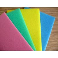 China Pink / White Packaging Open Cell Foam Block Good Ventilation Fine Pored Dust Proof wholesale