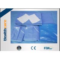 China Sterile C - Section Disposable Surgical Packs With Mayo Cover Waterproof on sale
