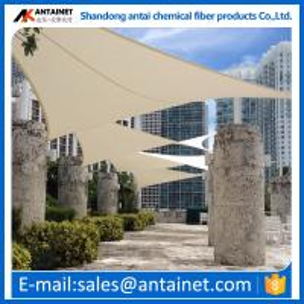 Plastic shade sail,durable and beautiful shade sail