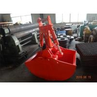 China Non Rotate Excavator Clamshell Grapple Bucket For Daewoo DH280 Long Reach Excavator wholesale