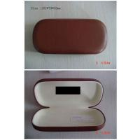 China Custom PU Leather Optical Eyewear Case , Reading Glasses Cases For Womens wholesale