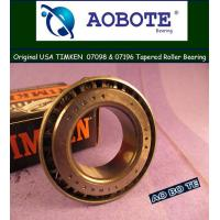 China Carbon Steel Timken Tapered Roller Bearings  wholesale