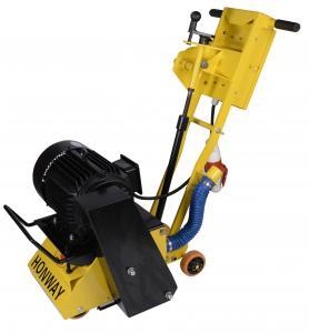 China Industrial Concrete Scarifier Machine With Vacuum 9HP Honda Engine OPtional wholesale