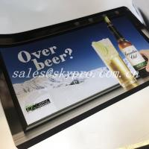 China Hot selling nitrile fabric bar mat neoprene bar mats 3D OEM logo custom printing mat wholesale