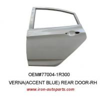 China Gray Korean Auto Body Parts Rear Right Automotive Door of Steel / Iron / Rubber wholesale