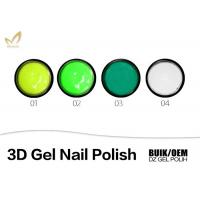 China Durable LED UV 3D Gel Nail Polish Nail Sculpting Gel Professional Salon Use wholesale