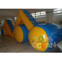 China 10M Commercial Adults Inflatable Water Game Playground For Rental Waterproof wholesale