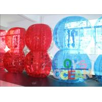China Air Sealed Exciting Inflatable Bumper Ball Bubble Human Sized Soccer Snocker Ball wholesale