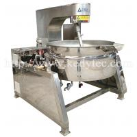 Quality Tilting Steam Jacketed Kettle With Mixer/Agitator for sale