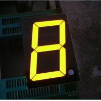 China Small Single Digit 7 Segment LED Display , Numeric Led Display 500 mm wholesale