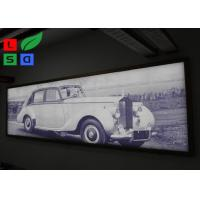 China IP65 Waterproof Frameless LED Lightbox , Snap Frame Backlit Fabric Lightbox In Public wholesale