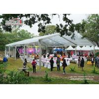 China Luxury Aluminum PVC Clear Wedding Party Tents For 500 - 1500 People wholesale
